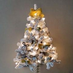 크리스마스 스노우 트리세트 4color-90cm