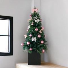 크리스마스 박스트리 SET-핑크 (150cm)