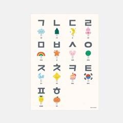 한글/알파벳/숫자/세계지도 3종세트(방수)