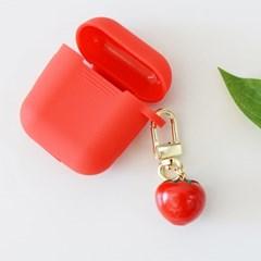 에어팟 자동차 키링 토마토