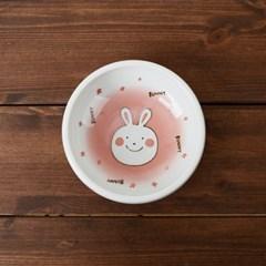 어린이 식기 후다다 스프볼 4P 세트 (토끼 강아지 개구_(1058312)