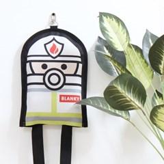 [디자인탐정] 소방담요 - 소방관 블랭키 (화이트)