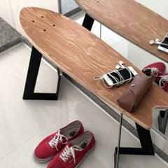서핑보드 스툴&테이블_Larch wood