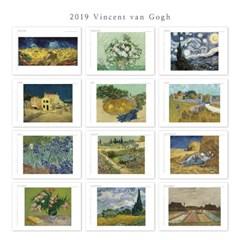 [2019 명화 캘린더] Vincent van Gogh 빈센트 반 고흐 Type A