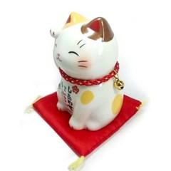 [일본]복을 부르는 마네키네코(얼룩고양이)T7644