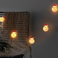 크리스마스 눈사람 LED 전구(10구)