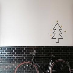 크리스마스 트리 스티커 xms016