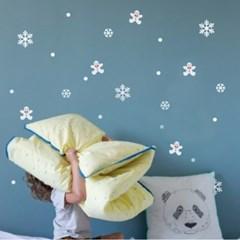 크리스마스 눈꽃 스티커 xms008