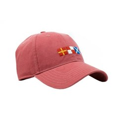 [Hardinglane]Adult`s Hats Rum Signal Flags on new england red