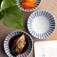 일본식기 아오센 보트형 종지 10cm_(1058591)
