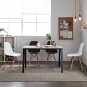 프리코 메이플 스틸 1200 식탁 / 테이블 / 책상
