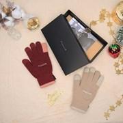 디어모먼트 겨울 스마트폰 터치 커플 약속장갑 세트 (2개 SET)