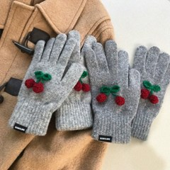 [단독할인] winter cherry gloves