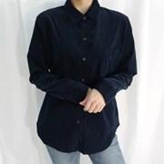 Milk corduroy shirt(코듀로이원단)