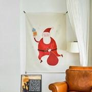 크리스마스 일러스트 패브릭 포스터 / 가리개커튼