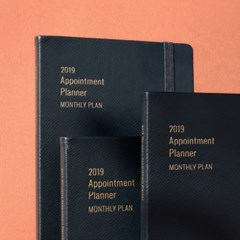 2019 Appointment Planner [A5 Monthly Plan]_(743022)