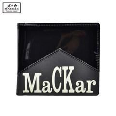 MACKAR 마카 직수입 정품 패션 남성 반지갑 Q4017A