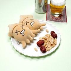 모찌모찌 씨푸드 핫팩인형