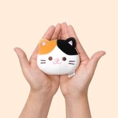 모찌모찌 까망베르 얼굴형 핫팩인형