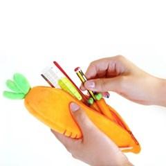[SNS화제 인싸템] 갓샵 유기농 당근필통 캐럿야채필기구