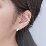 14K 귀걸이 큐페어(핑크골드)
