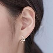 14K 귀걸이 노트(핑크골드)