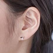 14K 귀걸이 오드(핑크골드)