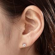 14K 귀걸이 레쉬(핑크골드)
