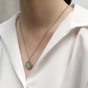 Vincent coin necklace
