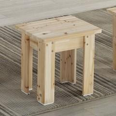 세레노 삼나무 1인 원목 의자