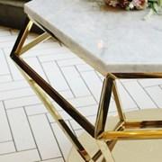 다이아몬드 대리석 쇼파 거실 테이블