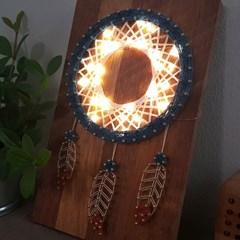 드림캐쳐 스트링아트(우드/LED)