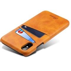 아이폰 소가죽 카드 지갑 케이스 MAX XR XS