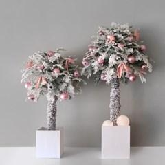 토피어리 트리-핑크 장식 SET(120cm)
