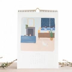 Atelier Bobbie 2019 Calendar_Lila