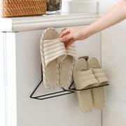 갓샵 벽접착식 슬리퍼거치대걸이 욕실 현관 화장실 실내화꽂이