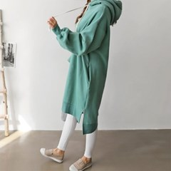 Double Gimo Hoodie Dress