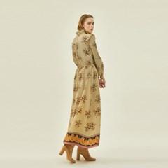 Victoria Frill Dress in Cream