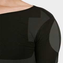 갓샵 어깨깡패뽕 패드티셔츠 2종 남자 어깨넓어보이는옷 보정속옷
