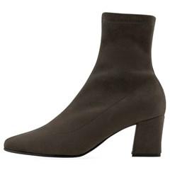 SPUR[스퍼] 삭스부츠 MF9056 Slender socks boots 다크브라운