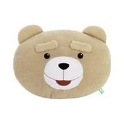 19곰테드 곰인형 얼굴 쿠션 40CM_(1003701)