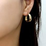 랫 폴 18K Gold/Silver Plating 귀걸이 925_(1794719)