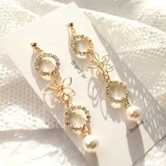 [텐텐클래스] (성남) 어떤 옷에도 어울리는 귀걸이(2개)