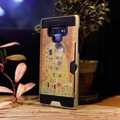 LG Q6 (LG X600) Obli-Obra 명화 카드 범퍼 케이스