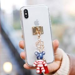 LG G7 (LG G710) Doble-포포베 풀커버 케이스