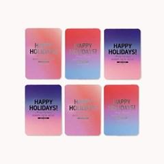 아이씨엘 크리스마스 카드 - 라미앤느 4종세트 ver.1