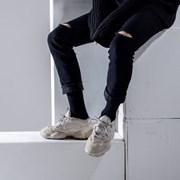 [3개세트]1218크루파일장목양말