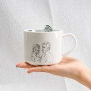 [뚜누] 인연 디자인 머그컵