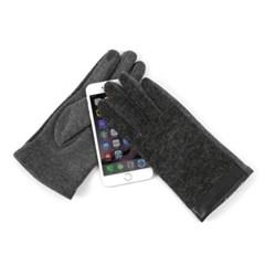 [베네]가죽 포인트 스마트폰 장갑