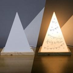 1AM 크리스마스 선물 인테리어 삼각 무드등 주문제작 가_(1229044)